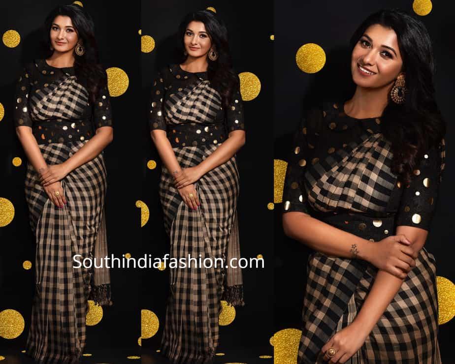 priya bhavani shankar saree