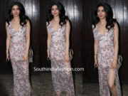 khushi kapoor at sonam kapoor birthday bash