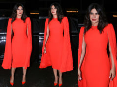 priyanka chopra red dress