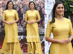 Mrunal Thakur in Raw Mango for Super 30 Promotions