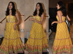 janhvi kapoor in anita dongre maxi dress