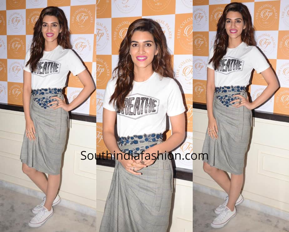 Kriti Sanon in a western outfit