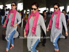 Tabu's travel look