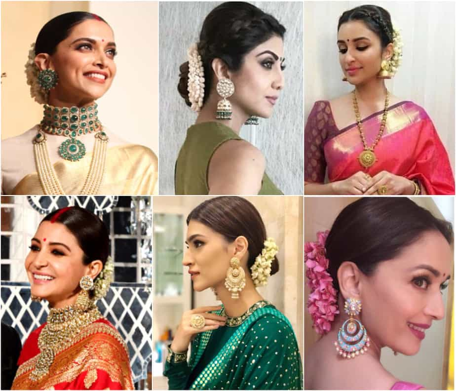 6 Easy Hairstyles to Try Out for All your Ethnic Outfits