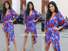 katrina kaif floral dress bharat promotions