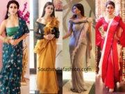 Debina Bonnerjee's saree looks