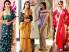 Debina Bonnerjee's saree looks