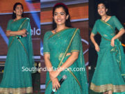 rashmika mandanna green half saree dear comrade