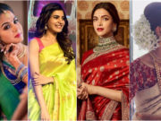 Hairstyles for Silk Sarees