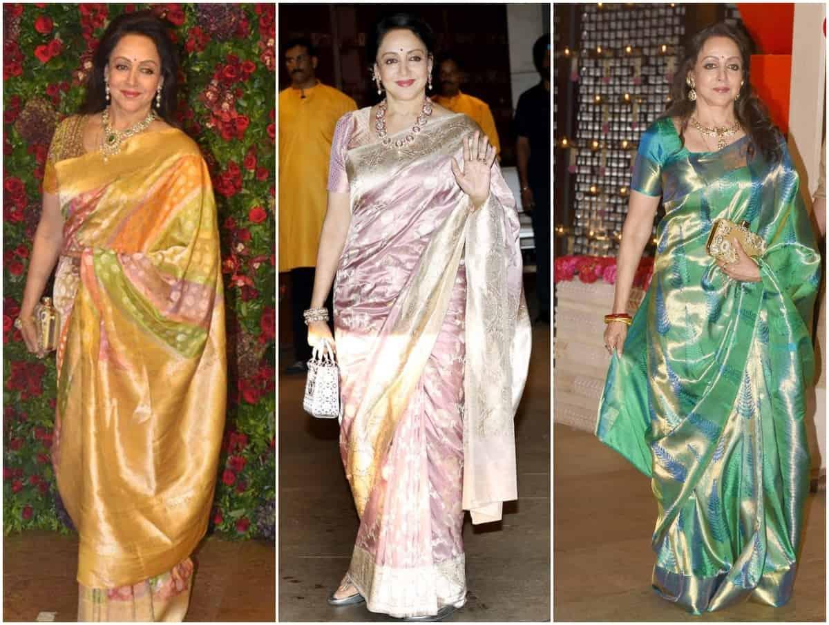 6 Celebrities Who Dazzled and Set Inspiration with Kanjeevaram Sarees