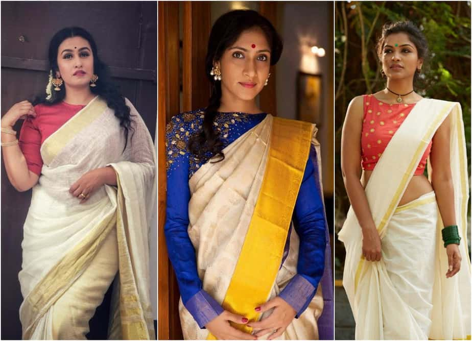 Blouse Designs for Kerala Sarees