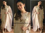 Mira Rajput Kapoor in Weave In India suit