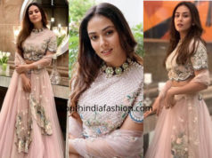 Mira Rajput in Summer by Priyanka Gupta for a wedding