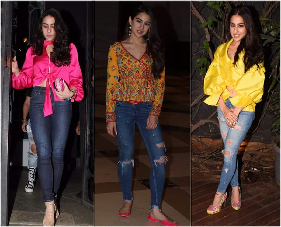 Sara Ali Khan's Fashion Quotient - Different, Simple and Unique