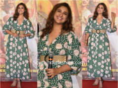 Parineeti Chopra in a maxi dress for the trailer launch of Jabariya Jodi