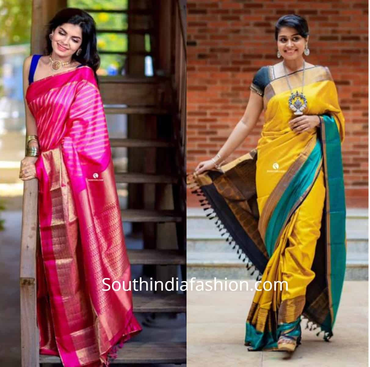Pashudh Kanjeevaram Sarees Featured