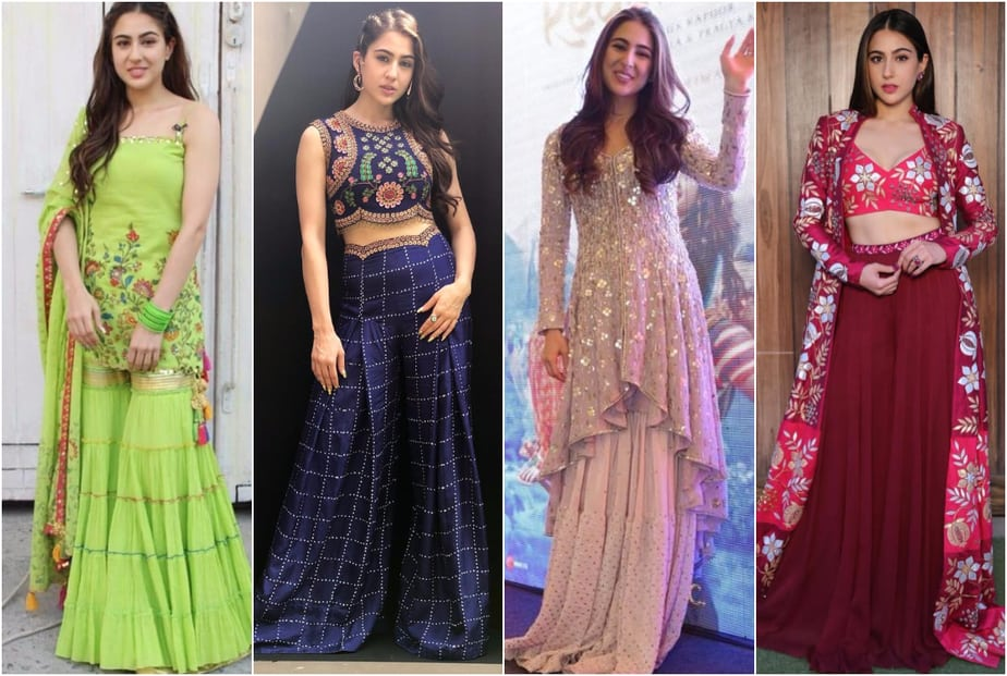 Bollywood Divas Show us How to Rock a Sharara
