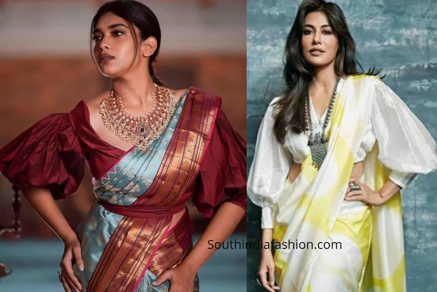 sleeve design for blouse latest