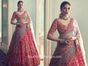 Aditi Rao Hydari in Kalki for Bride and Baraat