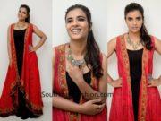 Aishwarya Rajesh in Label Ritu Kumar for India Retail Excellence Awards