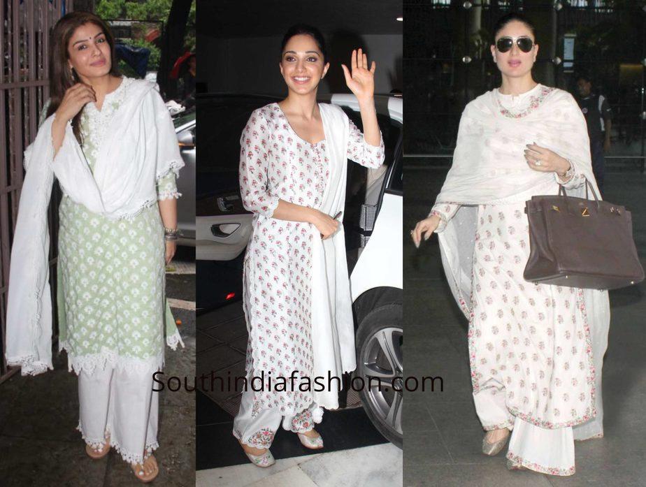Celebrities in Palazzo Suits
