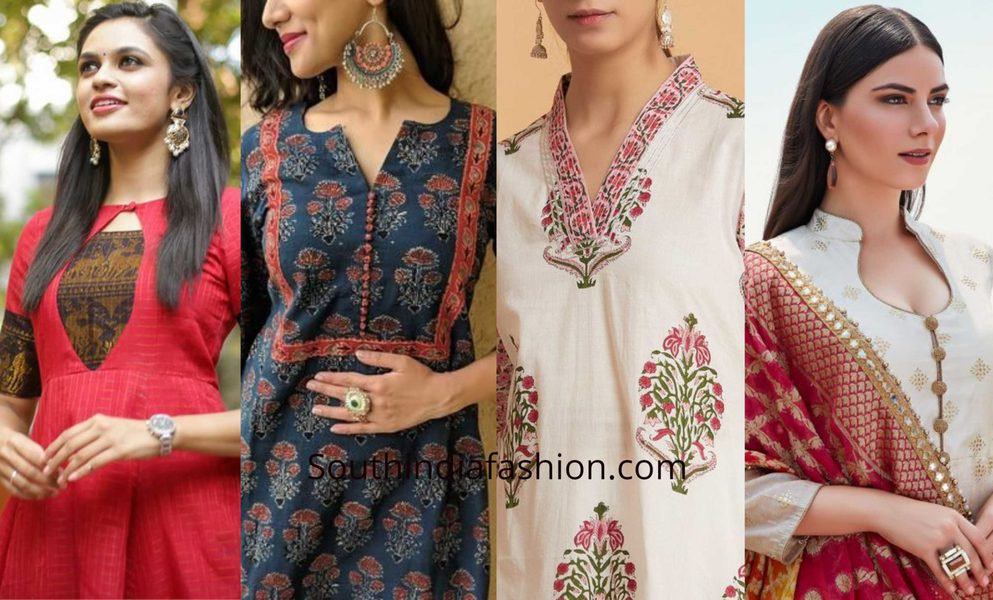 Simple And Trendy Churidar Neck Designs 2020 Kurti Neck Designs