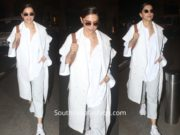 Deepika Padukone's all white look at the airport