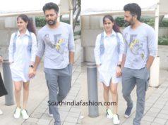 Genelia and Rietesh Deshmukh in casual wear