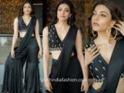 Kajal Aggarwal in Devnaagri for Press Interviews