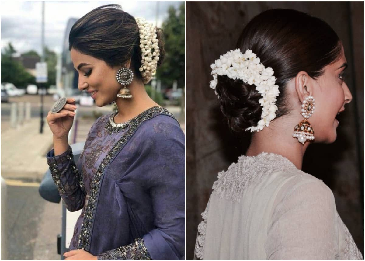 Traditional and Trendy Hairstyles to Try Out With Gajra and Mogra!