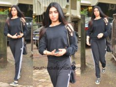 Khushi Kapoor in casuals at Kromakay
