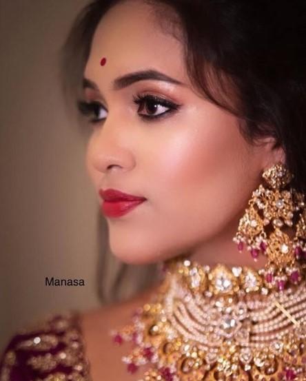 makeup by manasa