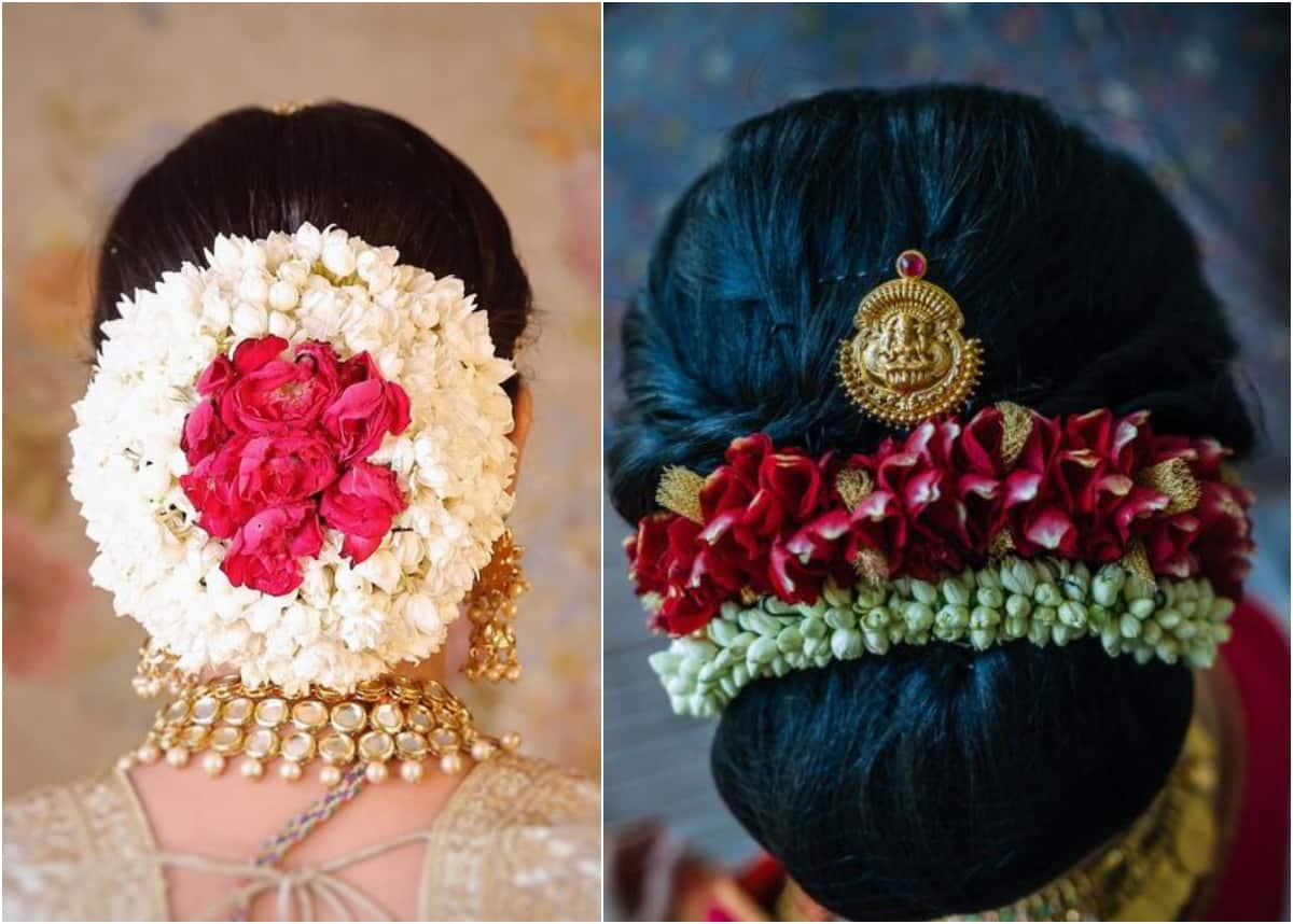 Traditional and Trendy Hairstyles to Try Out With Gajra and Mogra