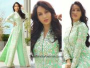 Nora Fatehi in Abu Jani Sandeep Khosla for Eid