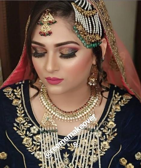 Reem's makeup