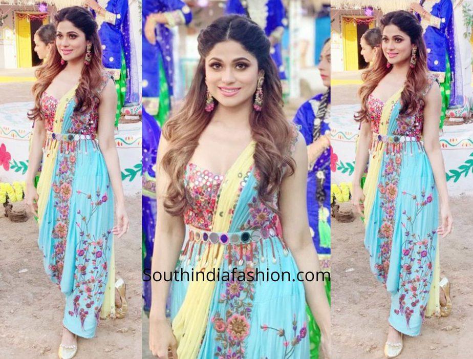Shamita Shetty in Sonam Luthria for Teri Maa Shoot
