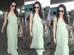 Shraddha Kapoor in AND at the airport