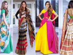 Tia Bhuva Inspired 7 Ways to Drape Saree Off-Beat Styles