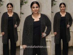 Vidya Balan in Abraham and Thakore for Mission Mangal Promotions