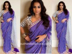 Vidya Balan in Urvashi Kaur for Mission Mangal Promotions