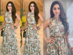 aarti ravi printed maxi dress
