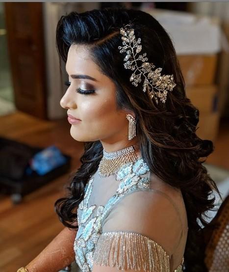 Afsha Rangila party makeup