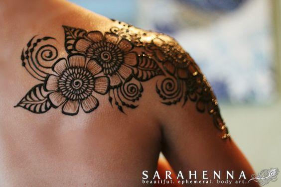 Henna Tattoo Body Designs: Indian Full Body Mehndi Pics