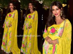 chitrangada singh in yellow anarkali by mrunalaini rao