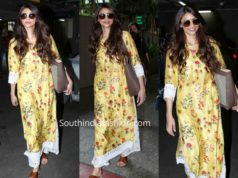 daisy shah airport palazzo suit