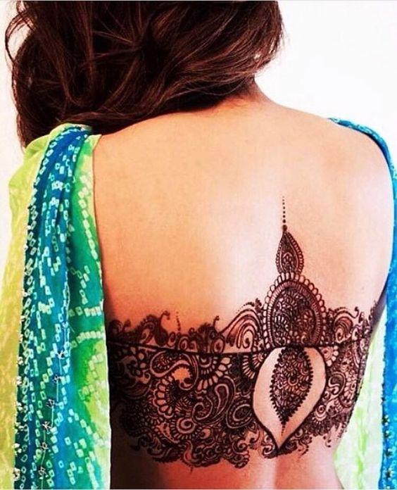 full body mehndi design