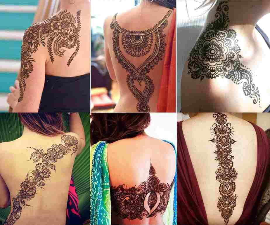 Full Body Mehndi Designs