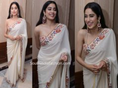 janhvi kapoor tarun tahiliani saree book launch event