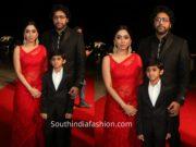 jayam ravi family at siima awards 2019