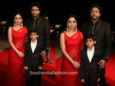 jayam ravi family at siima awards 2019